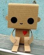 Cardboard Buddy by batsywatsy