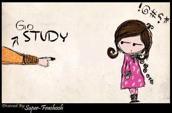 Go STUDY---------------------- by Super-Frashooh