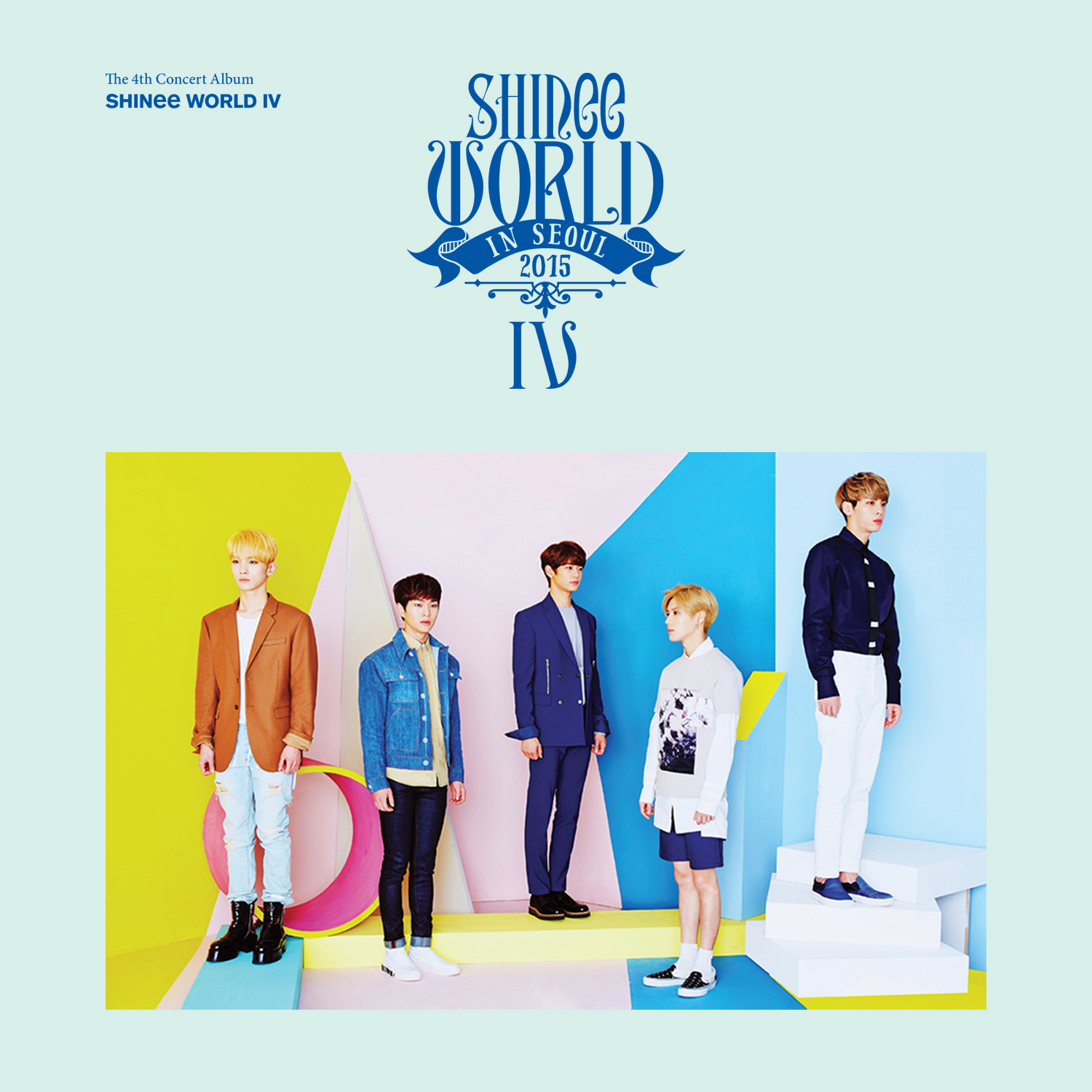 SHINee - SHINee WORLD IV [Concert Album] DOWNLOAD by Asian