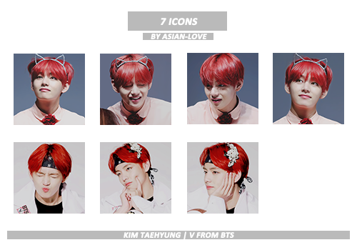 Icon Pack BTS (V) by Asian-Love