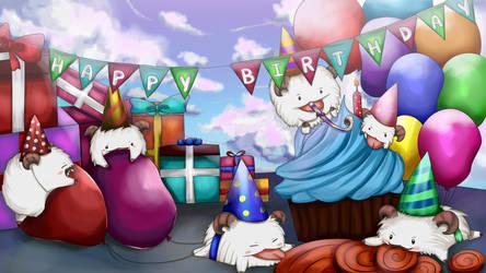 Birthday Poro by shathyd3