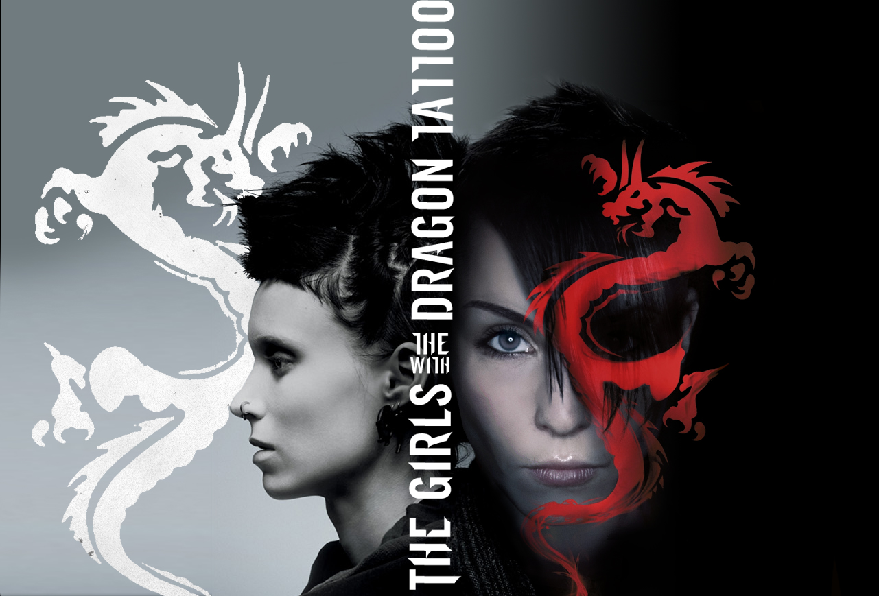 The Girls With The Dragon Tattoo By Lol2679 On Deviantart