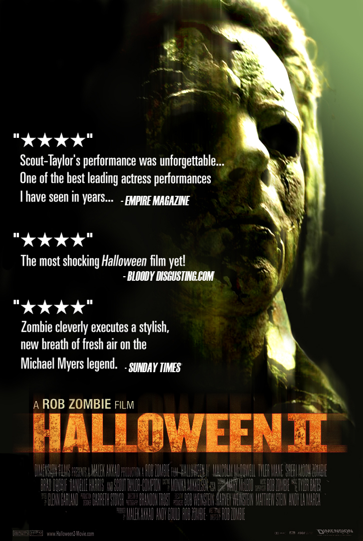 Halloween II movie poster by LOL2679 on DeviantArt