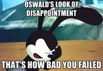 Oswald's WTF face