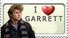 I Love Garrett Hedlund Stamp by XxPureChaosxX