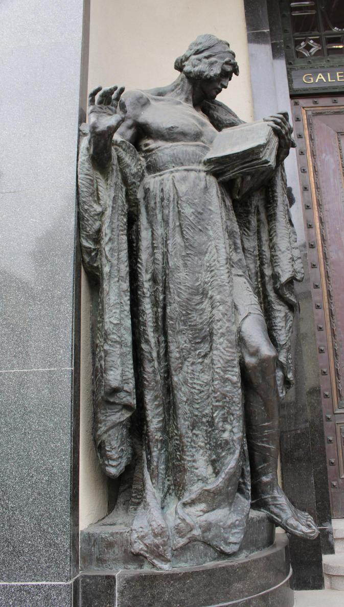 Man Statue by DelphineHaniel