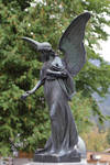 Angel statue from Oberammergau