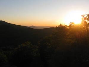 Sunbeam in Lusatian Mountains by DelphineHaniel
