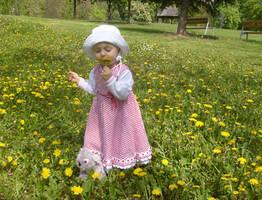 Dandelion Princess by DelphineHaniel