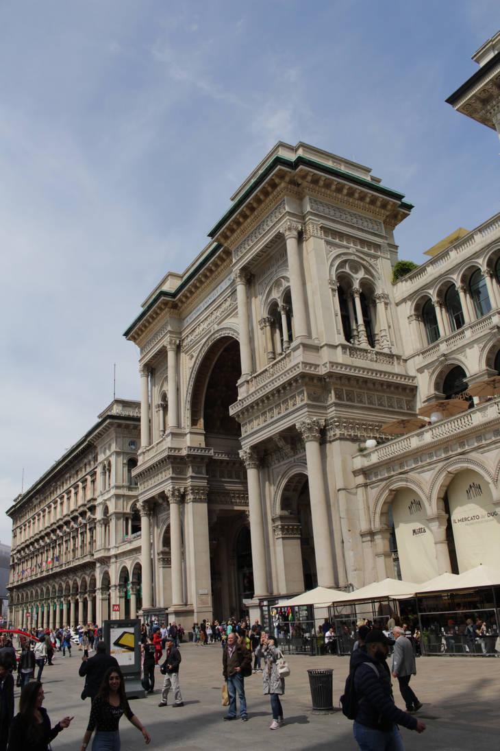 Galleria Vittorio Emanuele II by DelphineHaniel