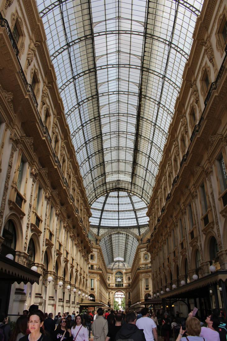 Galleria Vittorio Emanuele II interior by DelphineHaniel