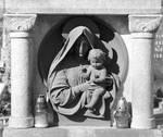 Virgin Mary and baby Jesus by DelphineHaniel