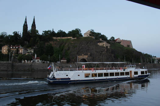 Ship on the Vltava