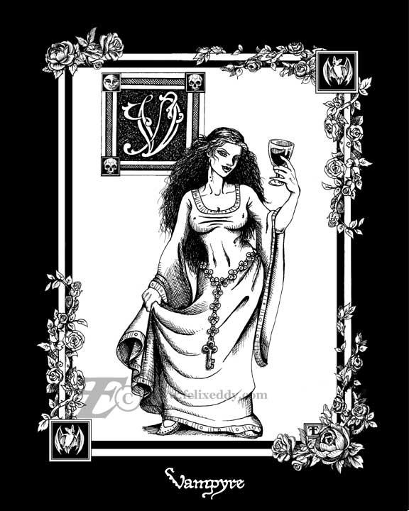 V for Vampyre by felixxkatt