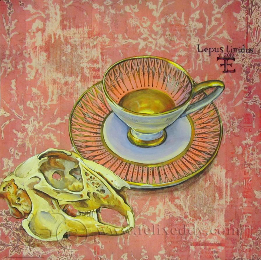 Lepus Teacup by felixxkatt