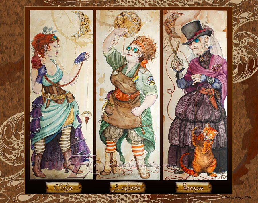 Steampunk Fates by felixxkatt