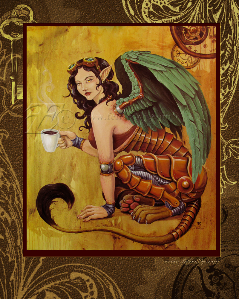 SteamSphinx with Coffee by felixxkatt
