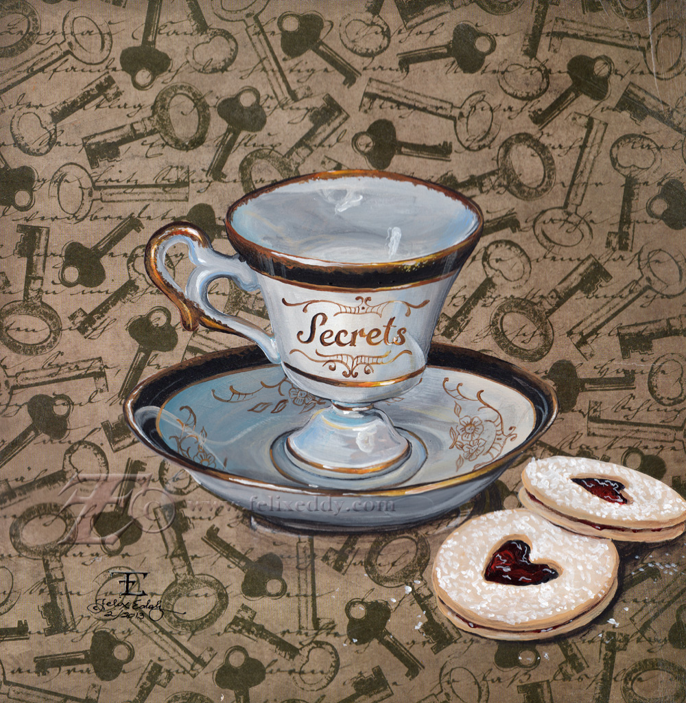 Cup of Secrets by felixxkatt