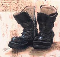 Self-Portrait: Boots by felixxkatt