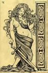 Celtic Goddess by felixxkatt