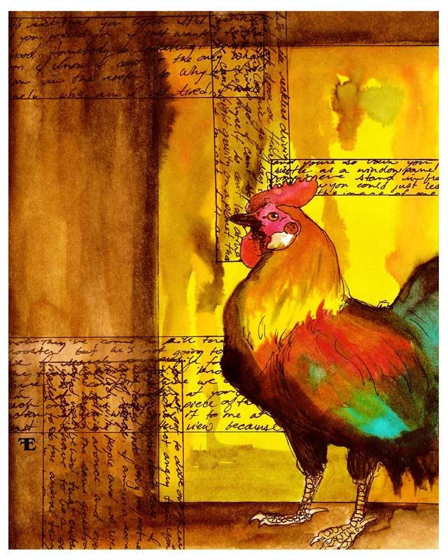Rooster by felixxkatt