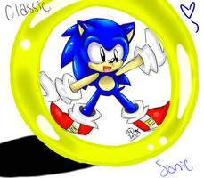 Classic Sonic by SolarSonic3546