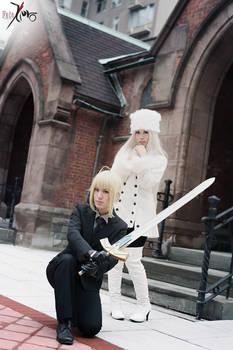 Fate/Zero - Saber and Irisviel