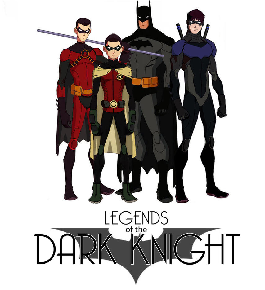 Legends of the Dark Knight by jasonh537