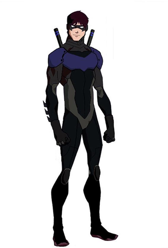 animated nightwing v2 by jasonh537 on deviantart