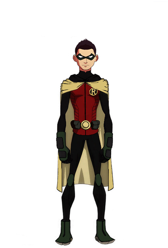 Animated Damian Wayne by jasonh537 on DeviantArt Young Justice Robin Damian Wayne