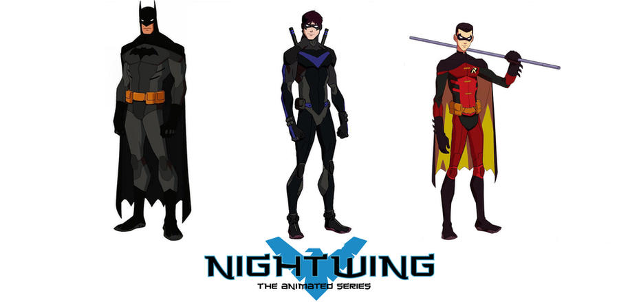 Nightwing The Animated Series By Jasonh537 On DeviantArt