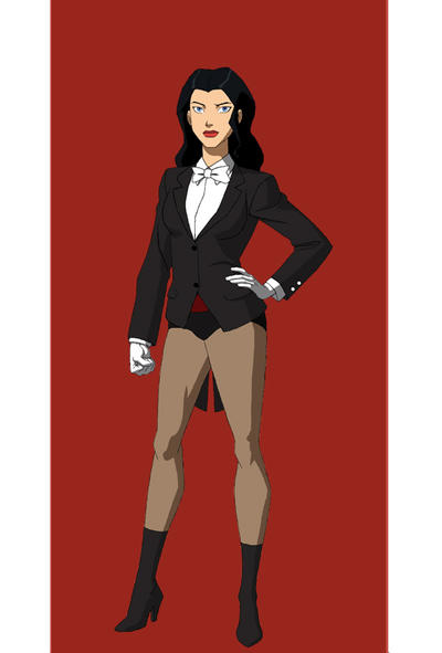 Young Justice Zatanna by jasonh537