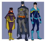 Bronze Age Batman Family