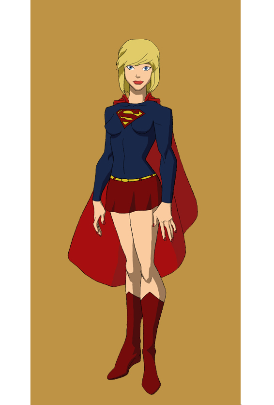 Young Justice Supergirl by jasonh537