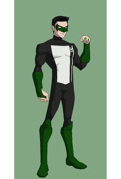 Young Justice Green Lantern (Kyle Rayner)