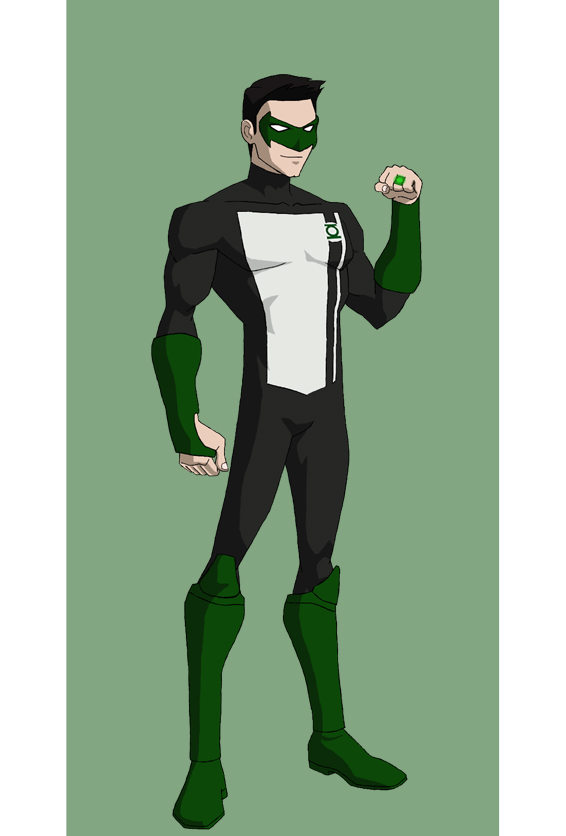 Young Justice Green Lantern  Kyle Rayner  by jasonh537Young Justice Kyle Rayner