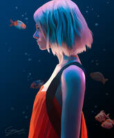 Goldfish Girl by 4thWinter