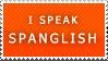 Spanglish Stamp by Sharlotta22