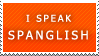 Spanglish Stamp by Sharlotta22
