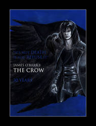 The Crow : 30th Anniversary Tribute by PatrickNobles