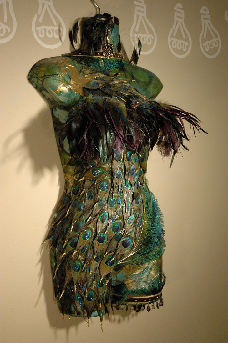Mannequin Lamp peacock mannequin lampcatintheboxcreations on deviantart