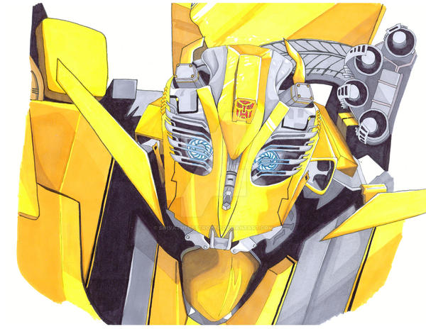 Bumblebee - Ready for Battle by ShivatheDestroyer