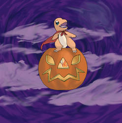 Spooky Charmander by Duo1
