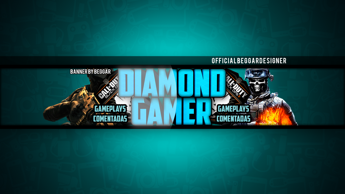 2048x1152 Youtube Channel Banner Gaming