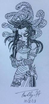Monster Girl Inktober: Day 8