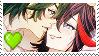 Ryuko X Uzu stamp