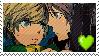 Yosuke X Chie stamp