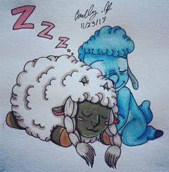 Sleepy Sheep