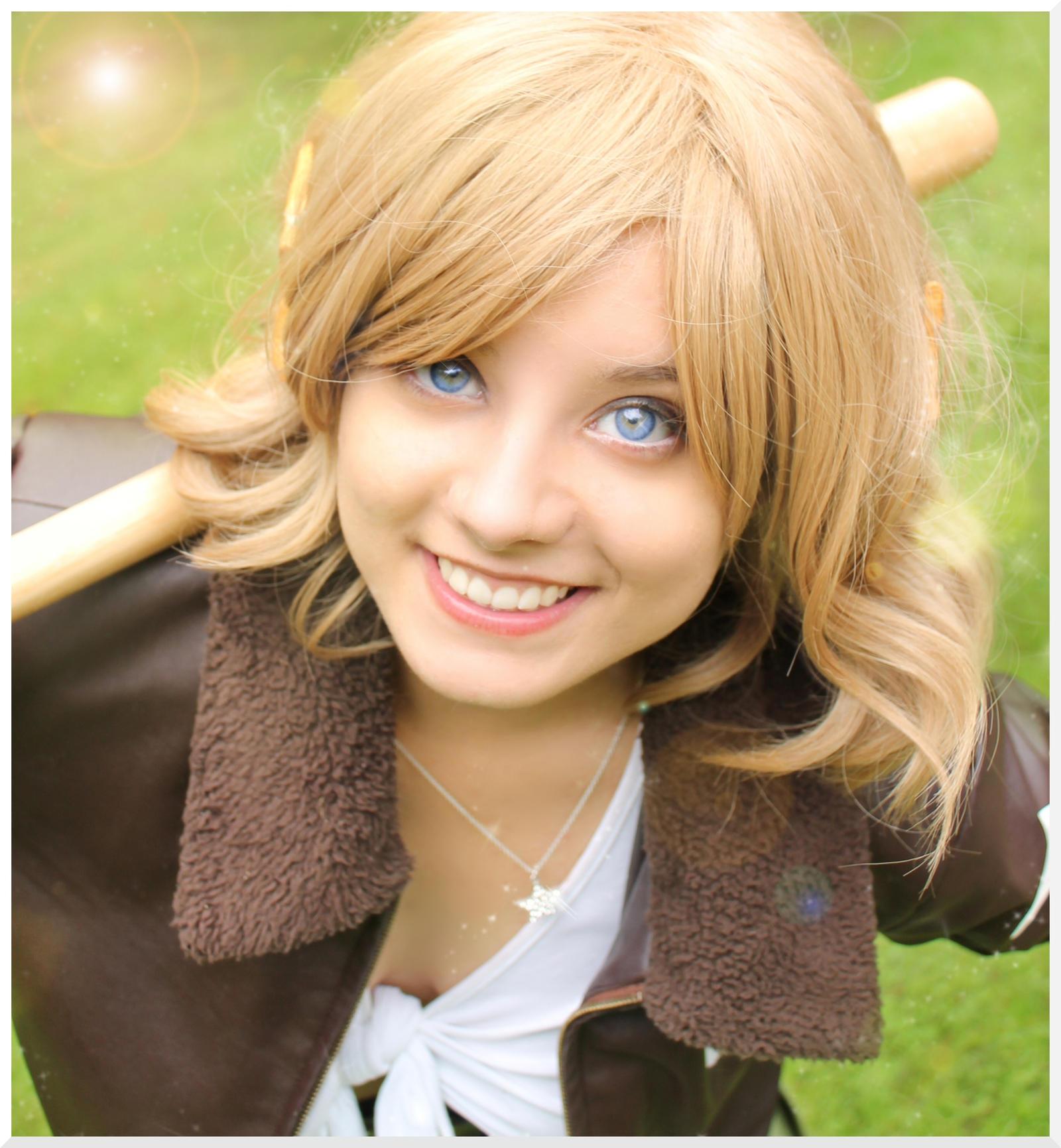 Nyotalia America - Bright Smile by Nazu-chan