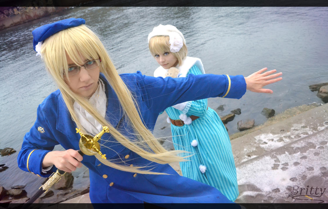 Nyotalia Finland Sweden - Don't touch m'wife...! by Nazu-chan